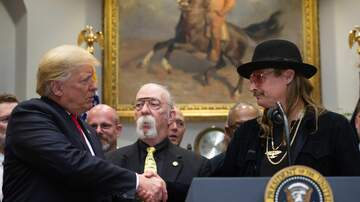 - Oh, and Kid Rock was at the White House too
