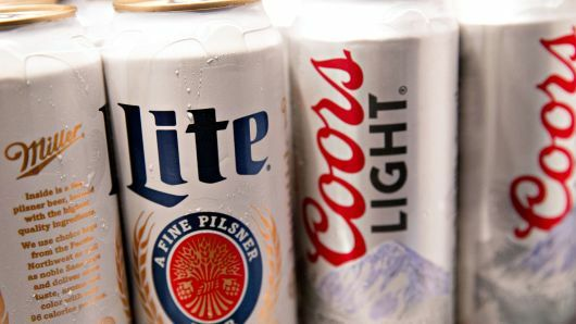Miller Lite and Coors Light (Getty Images)