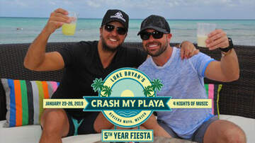 None - Luke Bryan Announces Lineup for 5th Annual 'Crash My Playa' Fiesta