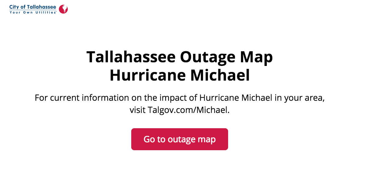 Tallahassee Power Outage Map Operation Stormwatch 107 1 Kiss Fm