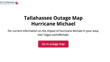 Operation Stormwatch - Tallahassee Power Outage Map