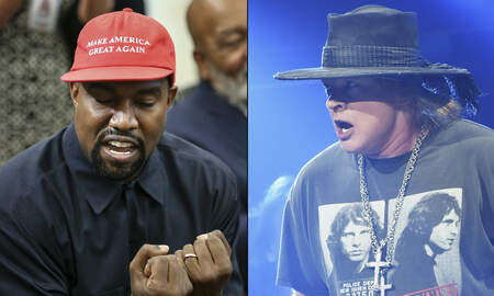 Rock News - Axl Rose Blasts Kanye West's Nonsense at the White House