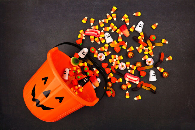 Halloween Candy Getty RF