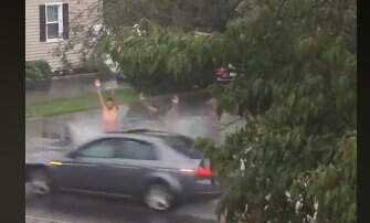 Hitman - When the Power went out after a rainstorm..They took advantage of it!