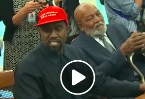 Buzzing - WATCH: Kanye West Rants In The Oval Office With Pres. Trump