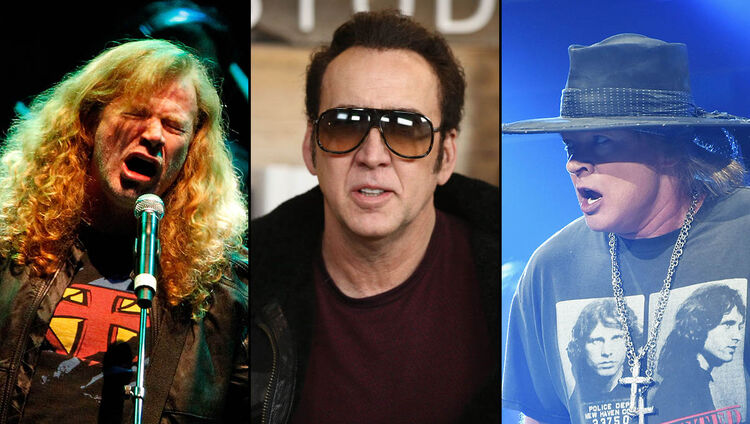 Nic Cage Says His 'Molly' Character Was Inspired by Axl Rose, Dave Mustaine