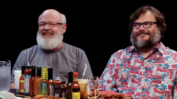 Trending - Tenacious D Eat Hot Wings & Discuss The Time They Got Booed Off Stage
