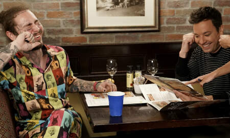 Trending - Post Malone Takes Jimmy Fallon To Olive Garden, Greatness Ensues