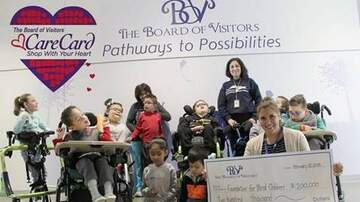 Marty Manning - Care Card benefits the Foundation for Blind Children