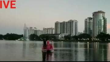 Scooter's Stuff - Drunk Man Goes on Swan Boat