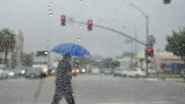 Local News - Thunderstorms Hit Southern California, Lightning Blamed For Fires
