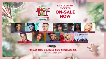 Jingle Ball - See Our KIIS Club VIP Exclusive On-Sale Code For #KIISJingleBall!