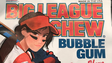 Jeff K - Big League Chew To Put Woman On Package For First Time