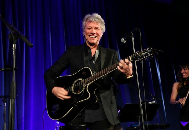 Jon Bon Jovi June 2018 Photo by Astrid Stawiarz/Getty Images