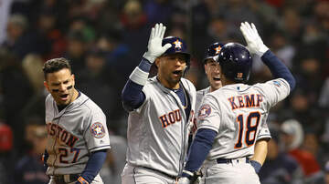 Sports Desk - Astros Top Red Sox In ALCS Opener