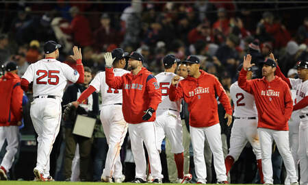 - Red Sox Edge Astros To Even ALCS