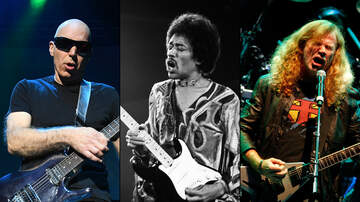 Rock News - Joe Satriani, Dave Mustaine Join Experience Hendrix Tour 2019