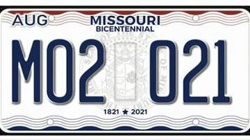 Dusty - Missouri is getting new license plates!