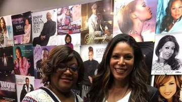 Tracy Bethea - Lady Grace from Hit Show Greenleaf Stops by 95.7