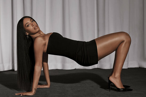 Solange photo by: collier schorr