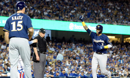 Brewers - Highlights: Brewers 4, Dodgers 0 - NLCS Game 3
