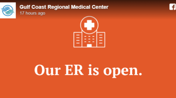 Operation Stormwatch - Gulf Coast Regional Medical Center ER Open