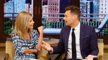 """Ryan Seacrest - Ryan, Kelly Ripa Surprise """"LWKR"""" Trivia Contestant Who Missed Question"""