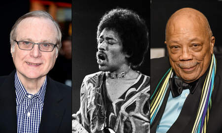 Rock News - Paul Allen Played Guitar Like Jimi Hendrix, Says Quincy Jones