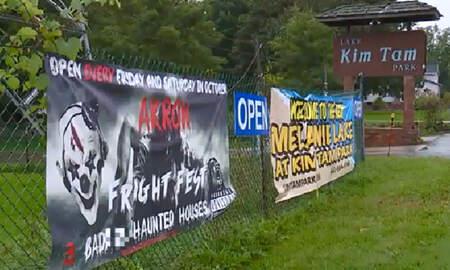 National News - Couple Says Ohio Haunted House Featured Mock Rape Scene