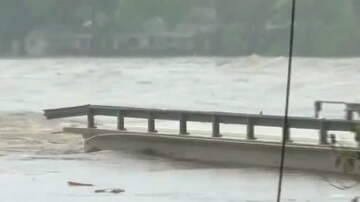Hitman -  VIDEO: Bridge over Llano River in Kingsland collapses due to flooding