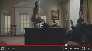 Tra'Renee - Is That Really Melania Trump Stripping for T.I.?!?