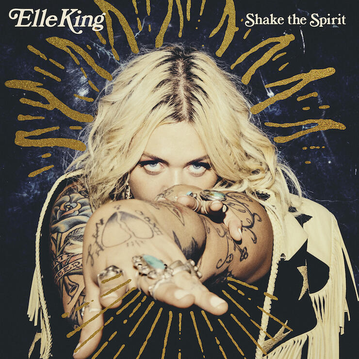 Elle King - 'Shake The Spirit' Album Cover Art