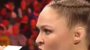 Hitman - Rhonda Rousey gives the ULTIMATE Pipebomb!!
