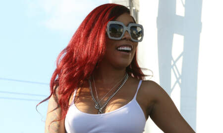 Trending - K. Michelle Shows Off Her Natural 'Silicone-Free' Booty: See The Pic