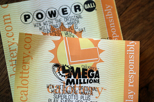 Mega Millions Lottery  Getty Images
