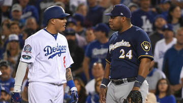Brewers - Brewers upset by Manny Machado's actions during Game 4 of the NLCS