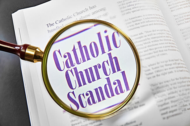 Catholic Church Scandal Getty RF