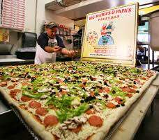 Dino - Say Hello To the World's Largest Pizza (Available for Delivery)