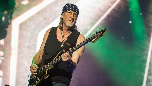 Deep Purple's Roger Glover 'Dreading' Retirement
