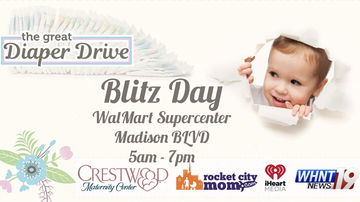 Tennessee Valley News - The Great Diaper Drive 'Blitz Day' is tomorrow!