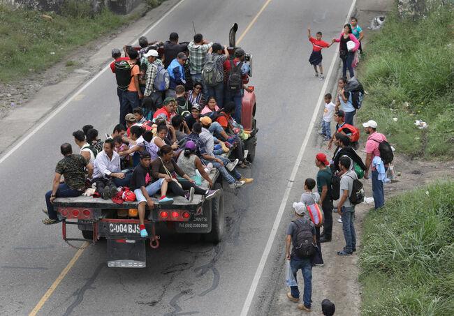 Honduran caravan