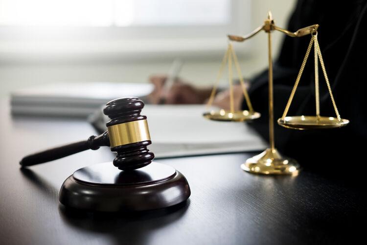 Gavel Courtroom Getty RF