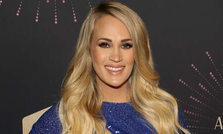 Trending - Did Carrie Underwood Just Reveal The Sex Of Her Baby On The Red Carpet?