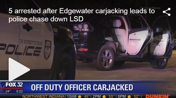 Frankie Robinson - POLICE OFFICER CARJACKED IN THE EDGEWATER NEIGHBORHOOD ON THE NORTHSIDE!!!