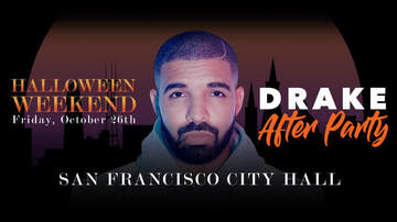 None - DRAKE After Party - Halloween Weekend at San Francisco City Hall