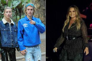 Justin Bieber & Hailey Baldwin Look At Home Where Demi Lovato Overdosed