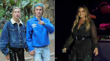 Trending - Justin Bieber & Hailey Baldwin Look At Home Where Demi Lovato Overdosed