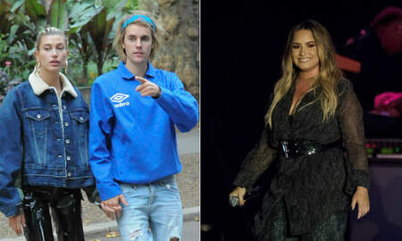 Entertainment News - Justin Bieber & Hailey Baldwin Look At Home Where Demi Lovato Overdosed