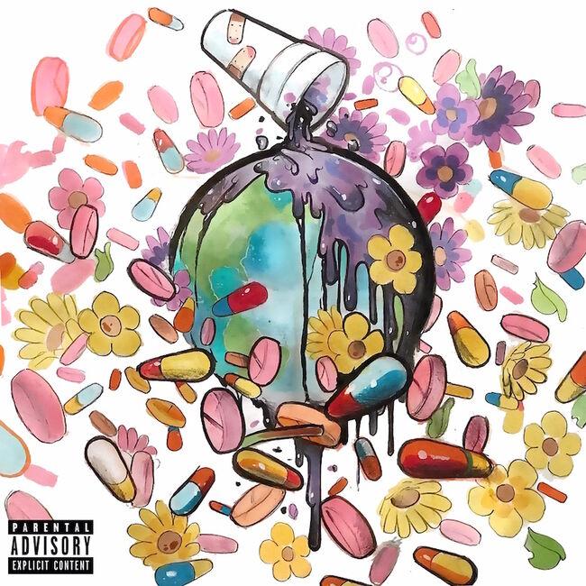 Juice WRLD & Future - 'WRLD on Drugs' Album Cover Art