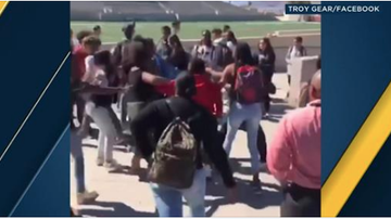 Qui West - Five IE High School Students Arrested After Fight Breaks Out!